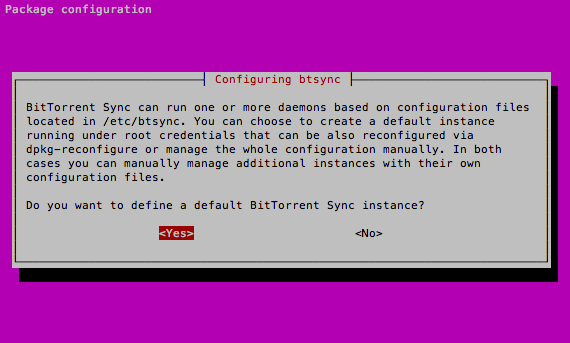configuração-do-sync-no-ubuntu-server